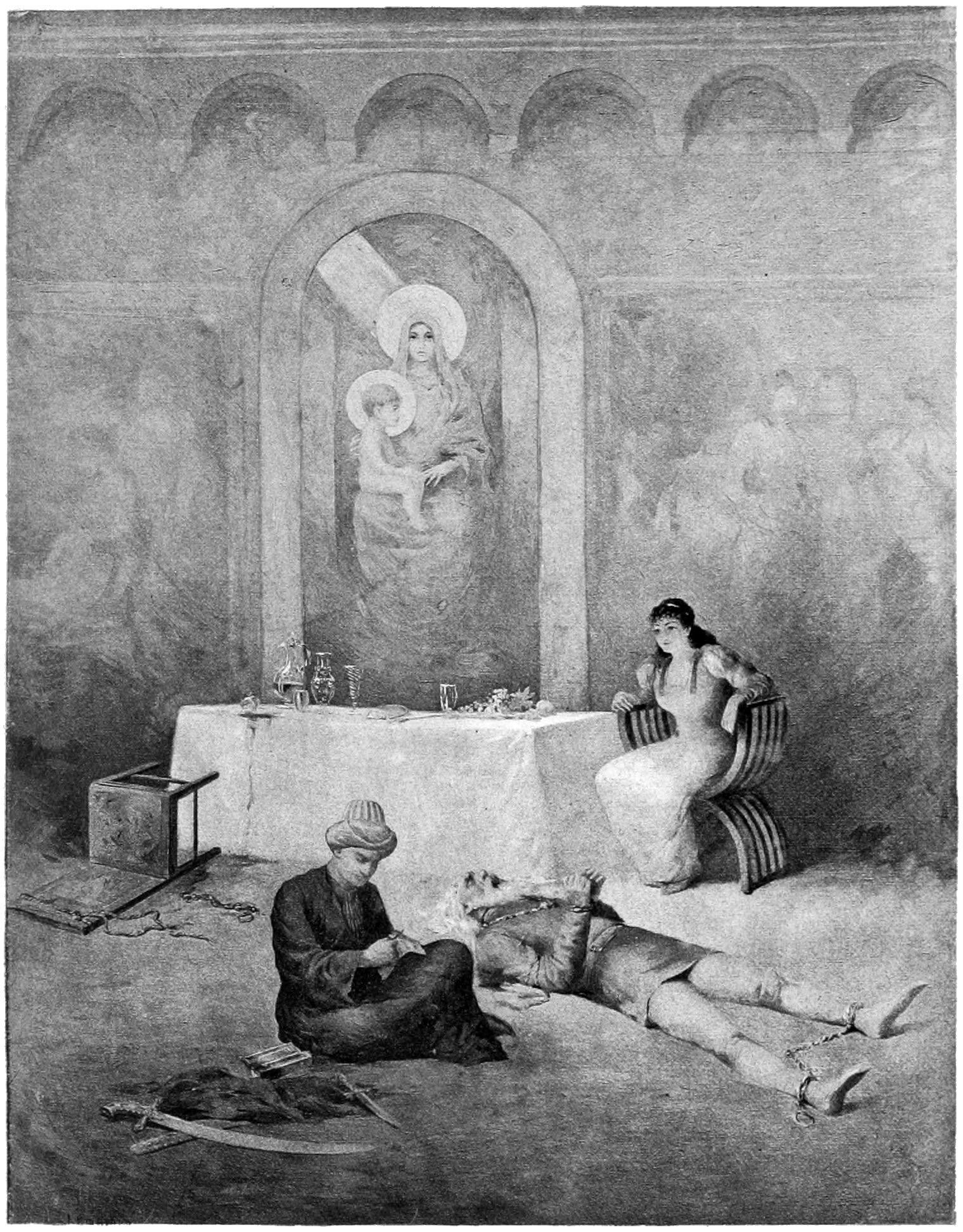 Illustration by Albert Letchford