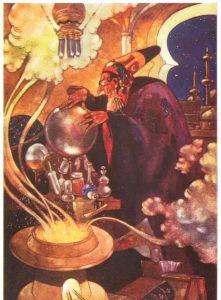 Illustration by Rene Bull