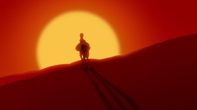 Disney's Aladdin - opening shot